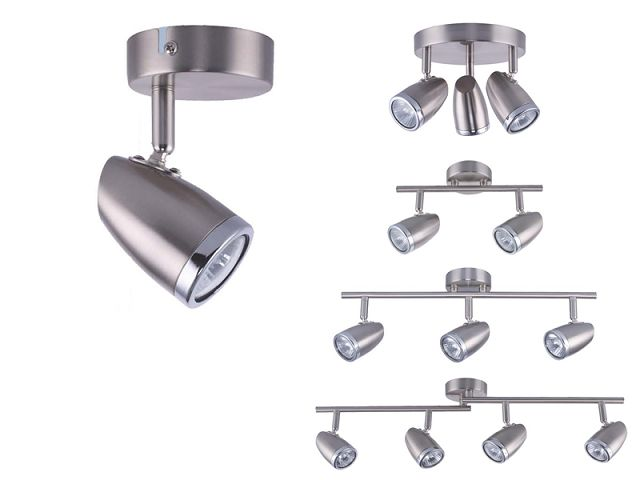 Fashionable Metal Black Ceiling Mounted GU10 Led Decorative Spot Light AS-2014