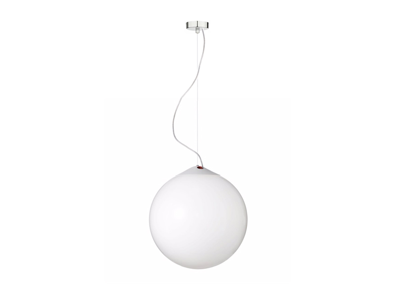 Diameter 400mm opal glass ball LED pendant light DMX control AP-5103